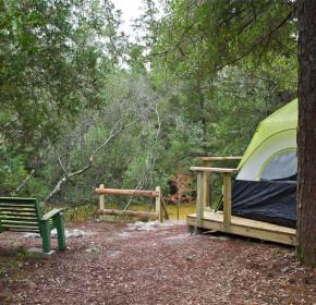 creek side camping milton, fl