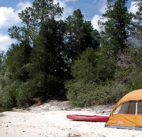 creek camping nature milton, fl